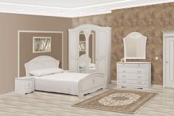 """Спальня """"Луіза"""" біле дерево"""