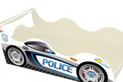 """Дитяче ліжко-машинка """"Поліція"""""""