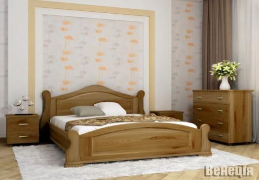 """Дерев'яне ліжко """"Венеція"""""""