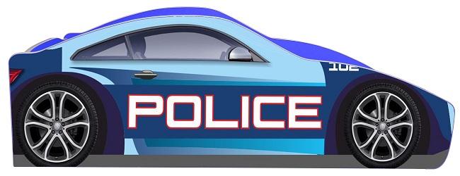 """Дитяче ліжко """"Поліція"""" бренд"""
