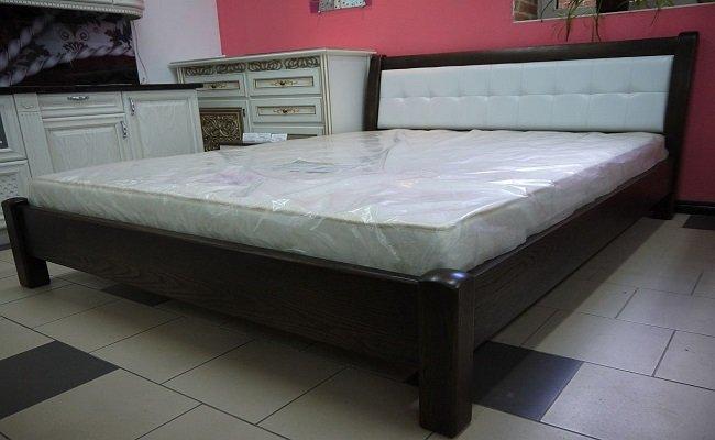 """Дерев'яне ліжко """"Ліон"""""""