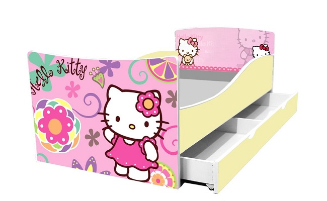 "Дитяче ліжечко ""Hello Kitty"" Кіндер"