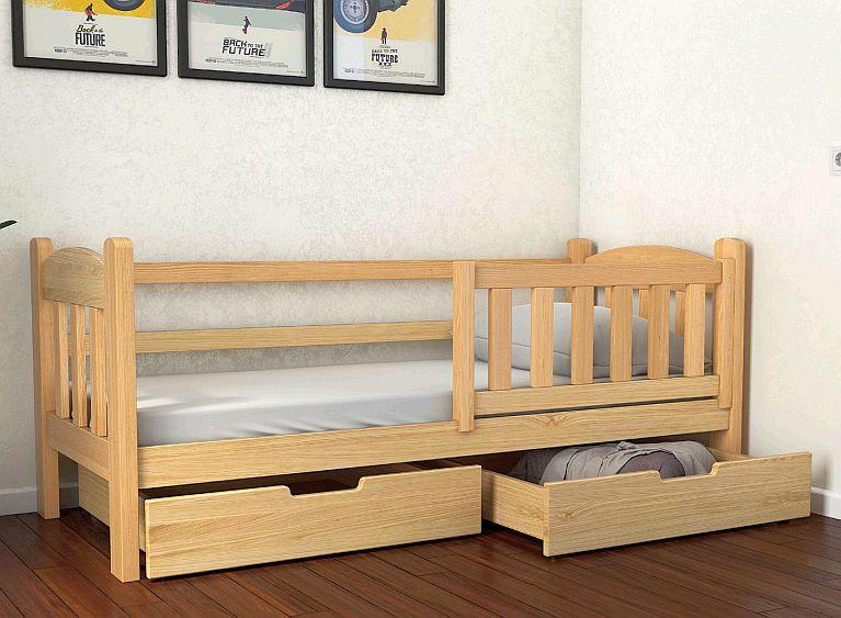 """Дерев'яне ліжко """"Еллі"""""""