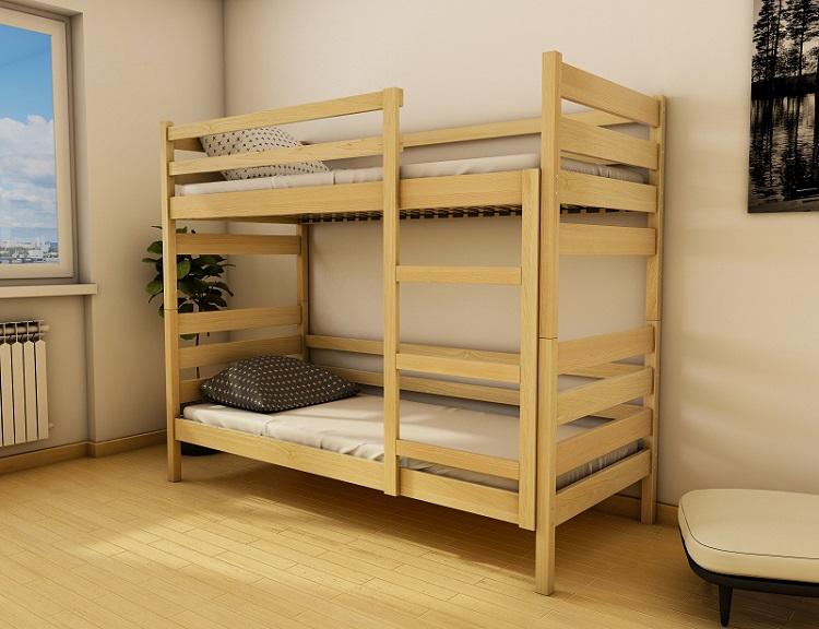 """Дерев'яне ліжко """"Амелі"""""""