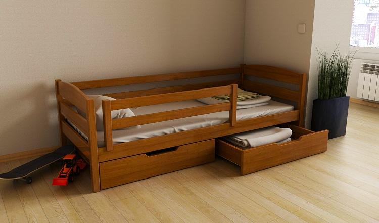"""Дерев'яне ліжко """"Х'юго"""""""