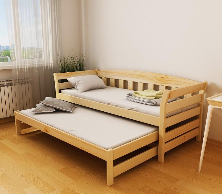 """Дерев'яне ліжко """"Тедді дуо"""""""