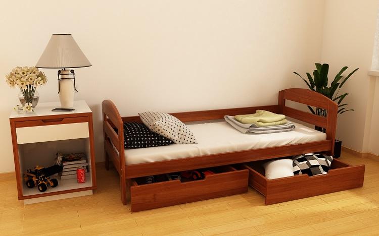 """Дерев'яне ліжко """"Вінні"""""""