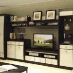 Стінки для вітальні: конфігурації та стилі