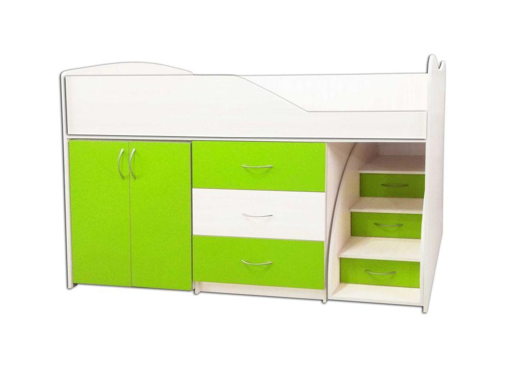 Дитяча кімната-ліжко з шафою №5
